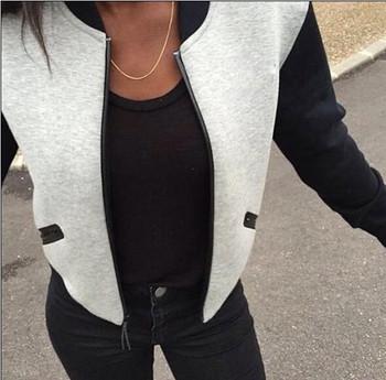 Γυναικείο καθημερινό μπουφάν με τσέπες