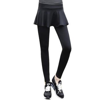 Дамско облекло за йога клин с пола - два модела