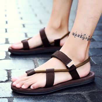 Ежедневни мъжки сандали в три цвята