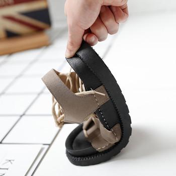 Дамски сандали на равна подметка в няколко цвята