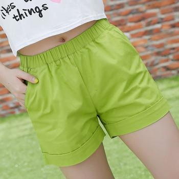 Ежедневни дамски къси панталонки в различницветове