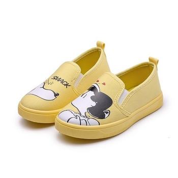 Детски обувки с апликация за момичета и момчета