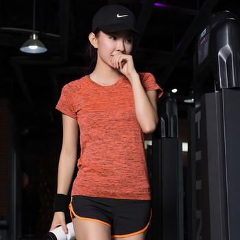 Дамски спортен екип - тениска и къси панталони в няколко цвята