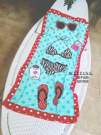 Плажна хавлиена кърпа в два модела