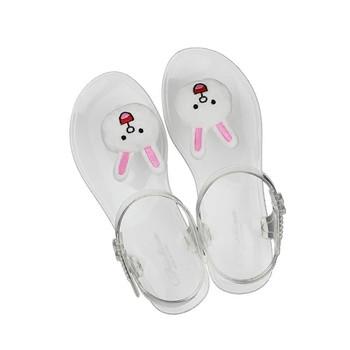 Дамски сандали с 3D декорация