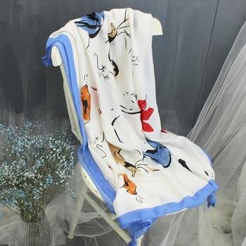 Памучни тънки дамски шалове за лятото различни модели