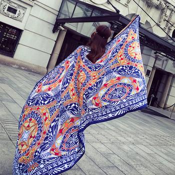 Дамски шалове за плаж в различни цветове