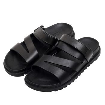 Мъжки сандали от еко кожа в два цвята