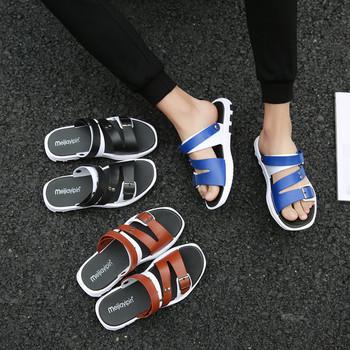 Мъжки сандали с равна подметка - два модела