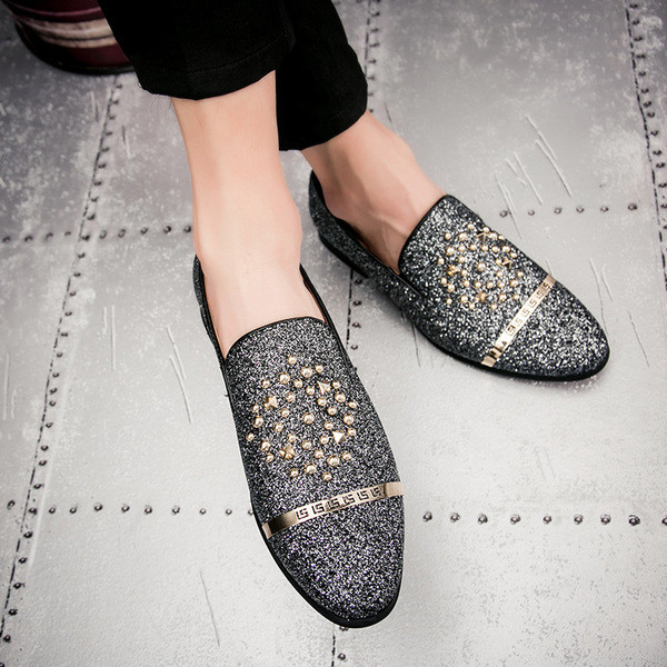 035e8d03d26 Мъжки летни обувки с метална декорация в два цвята - Badu.bg - Светът в ръцете  ти