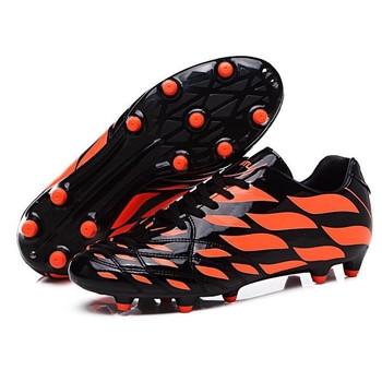Мъжки футболни бутонки от еко кожа лак в три цвята