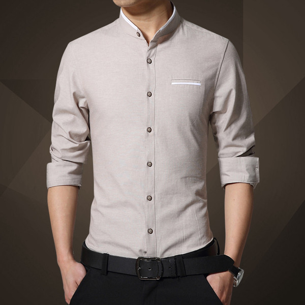 60974d8106b2 Ανδρικό πουκάμισο στενή γραμμή σε διάφορα χρώματα - Badu.gr Ο κόσμος στα  χέρια σου