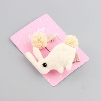 Комплект от две фиби за коса за малки момичета в различни цветове