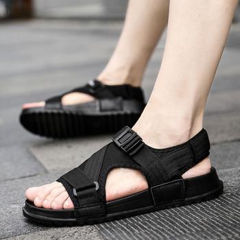 Регулиращи се мъжки ежедневни сандали