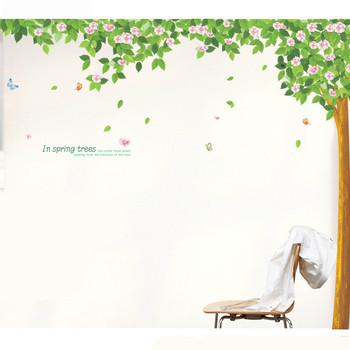 Стенен стикер - Дърво