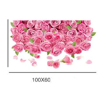 Декоративен стикер за всякакви повърхности - Рози