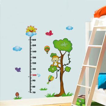 Детски стенен стикер с различни приказни герои