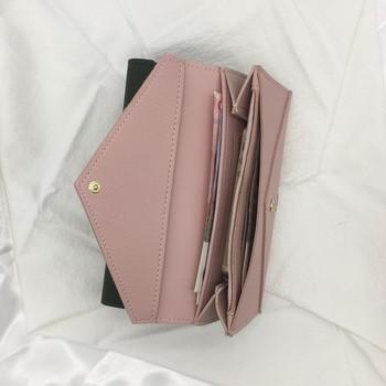 Κομψό μακρύ πορτοφόλι σε διάφορα χρώματα