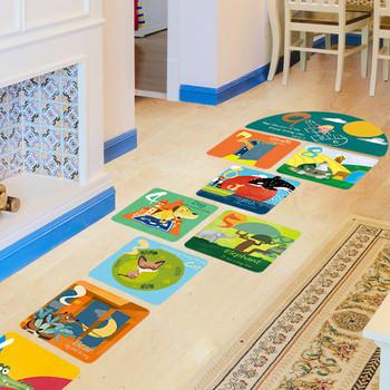 Детски стикер игра за всякакви повърхности Хоп-скок