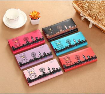 Γυναικείο πορτοφόλι σε έξι χρώματα