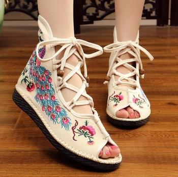 Интересни дамски модерни сандали в различни цветове и модели