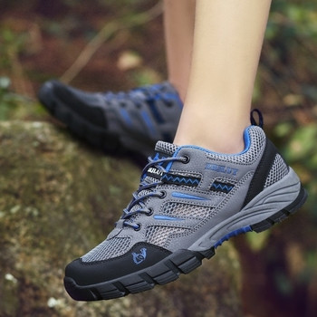 Спортни мъжки обувки с груба подметка подходящи за планина