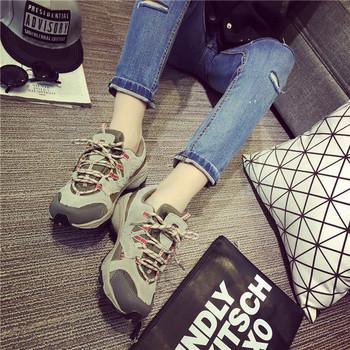 Удобни дамски туристически обувки в различни цветове