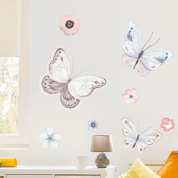 Стикери за стена пеперуди