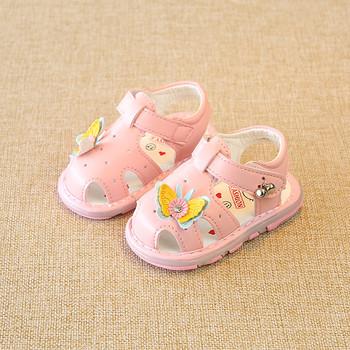 Бебешки сандали за момичета в различни модели