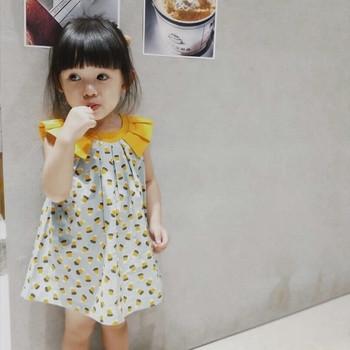 Бебешка рокля за момичета в два цвята