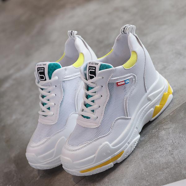 71bd02378a8 HIT Γυναικεια αθλητικά παπούτσια με πλατφόρμα σε πολλές αποχρώσεις -  Badu.gr Ο κόσμος στα χέρια σου
