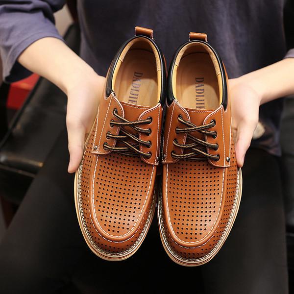 2694a593e61 Летни мъжки обувки в два цвята - Badu.bg - Светът в ръцете ти