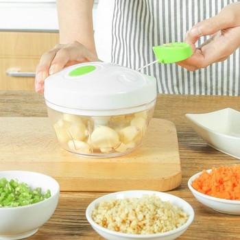 Ръчна мелачка за всякакви храни със стоманени ножчета