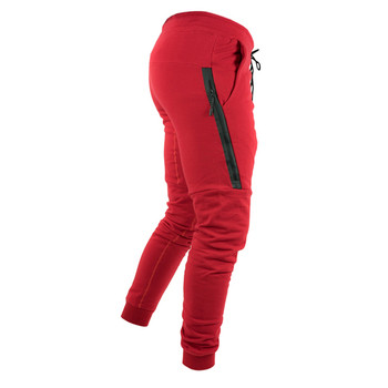 НОВИ Спортни панталони с джобове и страничен цип в няколко цвята