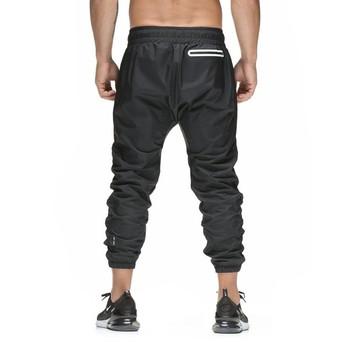 ХИТ Нови спортни мъжки  панталони в черно