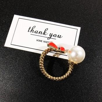 Дамски модерен пръстен - Целувка
