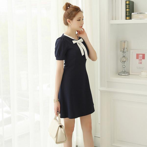 Κυρίες καθημερινό κοντό φόρεμα με κορδέλα - Badu.gr Ο κόσμος στα χέρια σου 75262d81afd