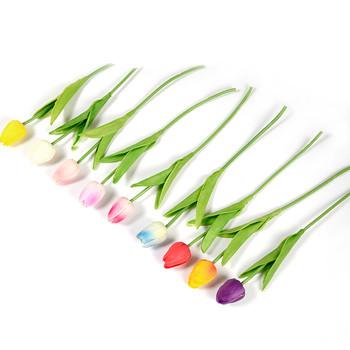 Декоративни лалета в няколко цвята