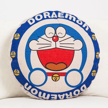 Декоративни кръгли възглавници с различни апликации