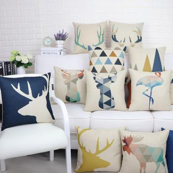 Калъфка за декоративни възглавници с различни апликации