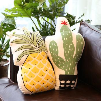Декоративни малки възглавници - Ананас и Кактус