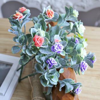 Декоративно цвете в няколко цвята