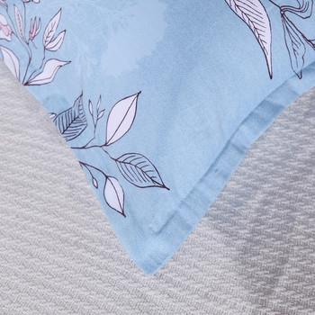 Калъфка за възглавница в няколко цвята с флорална декорация