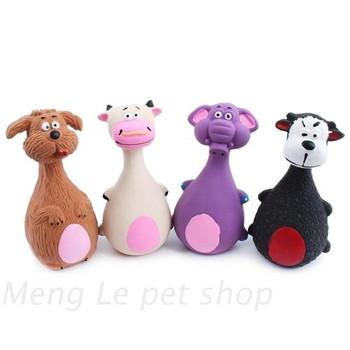 Гумена играчка за кучета издаваща звуци