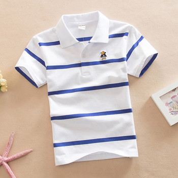 Раирана детска тениска за момче в различни цветове и два модела