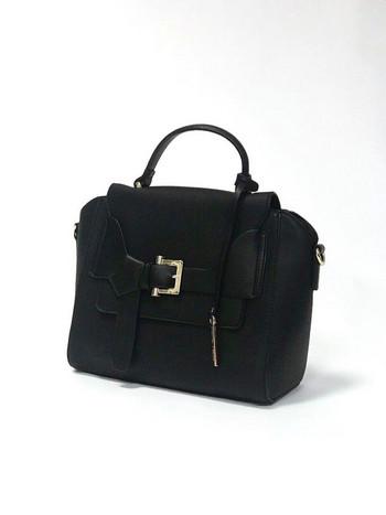Дамска малка чанта с капак