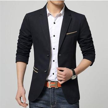 Мъжко изчистено сако в два модела