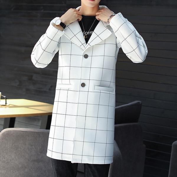 Κομψό παλτό ανδρικό σε μαύρο και άσπρο χρώμα - Badu.gr Ο κόσμος στα χέρια  σου c914a2f7602